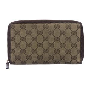 Gucci GG Canvas Travel Wallet